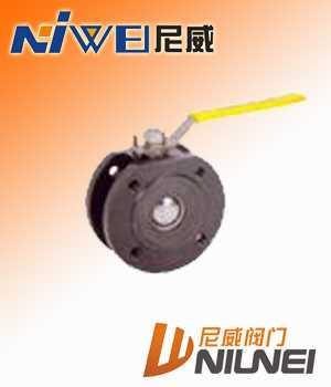 Q71F超薄型球閥,對夾式球閥