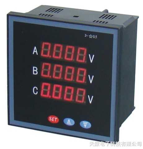 DQ-PZ211-1U4X2-DQ-PZ211-1U4X2三相電壓表