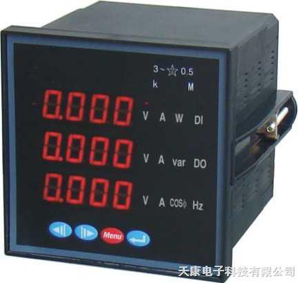 PD194D-CX1-PD194D-CX1 數顯電測表多功能智能電能表