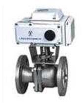 ZDJR、ZKJR、Q941F系列防爆型气动O型切断球阀