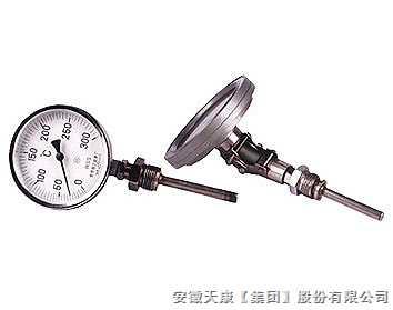 抽芯式雙金屬溫度計