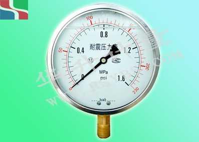 YN60-耐震压力表(径向)