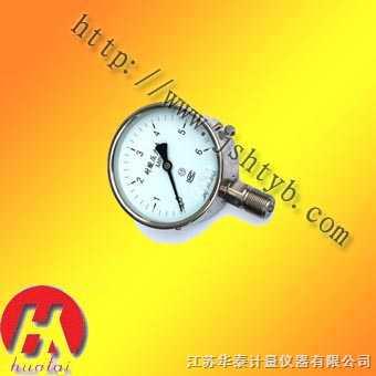 YTH/YTF耐腐耐高温压力表