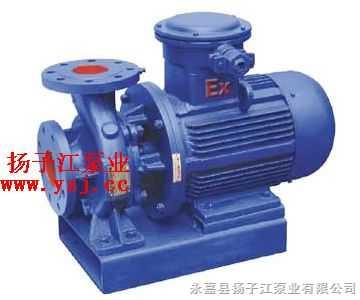 油泵:ISWB臥式單級單吸防爆油泵|臥式管道油泵