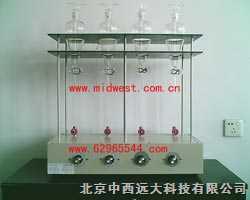 CN10M254696-中西牌四联全自动射流萃取器(500ml) 型号:CN10M254696(自产)