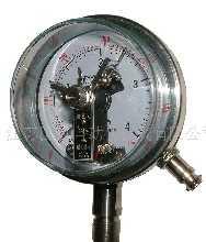 磁助电接点式压力表