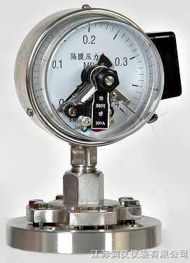 JSRY-YXC-隔离磁助电接点压力表