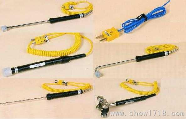 K型温度传感器/热电偶(表面与液体温度探头)