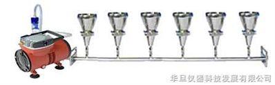 懸浮物抽濾裝置(六聯)