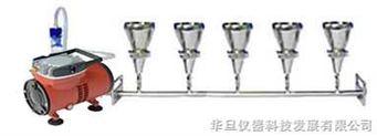 懸浮物抽濾裝置(五聯)