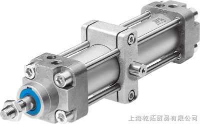 双活塞杆双作用气缸双活塞杆气缸有缸体固定和活塞杆固定两种.图片