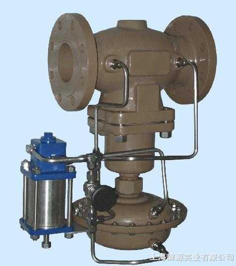 自力式压力调节阀-带指挥器操作型