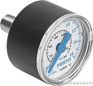 MA-15-10-QS-4 德FESTO压力表,FESTO费斯托压力表