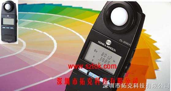 CL-200A-色溫照度計