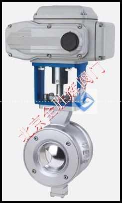 进口电动V型调节球阀/美国威盾VTON
