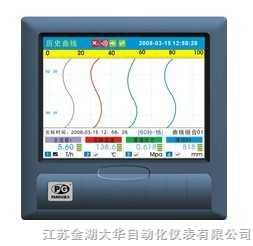 中長圖真彩無紙記錄儀DH8000R