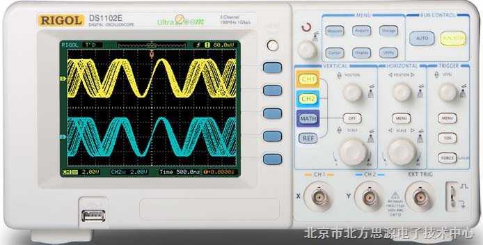 数字存储示波器 DS1102E/1052E