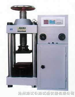 DYE-2000- 数字式压力试验机