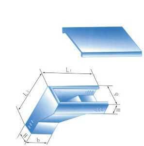 上角垂直等径三通
