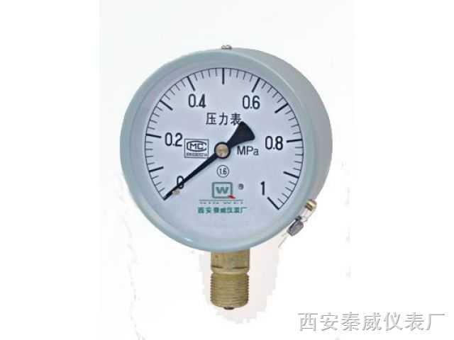 普通压力表,Y 系列一般压力表