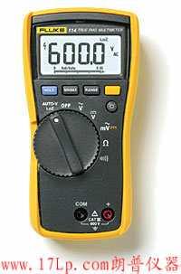 Fluke 114电气测量万用表│F114数显万用表│F114数字万用表