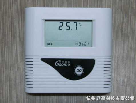 内置传感温度记录仪器
