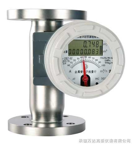 垂直隔爆型金属管转子流量计