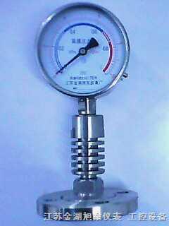 散热型隔膜压力表