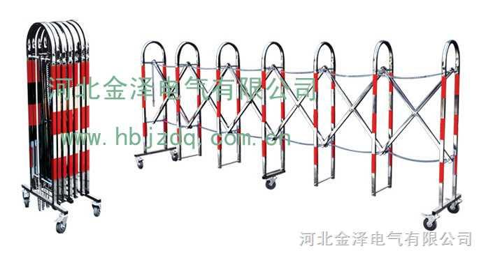 不锈钢伸缩围栏,不锈钢安全围栏,安全围栏,绝缘伸缩围栏,不锈钢安全防护栏,隔离防护栏,伸缩式安全围栏