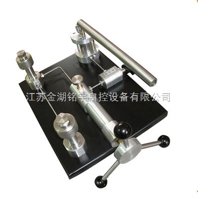 簡介臺式壓力泵-壓力校驗臺-精密數字壓力表-電磁流量計-微壓信號發生器