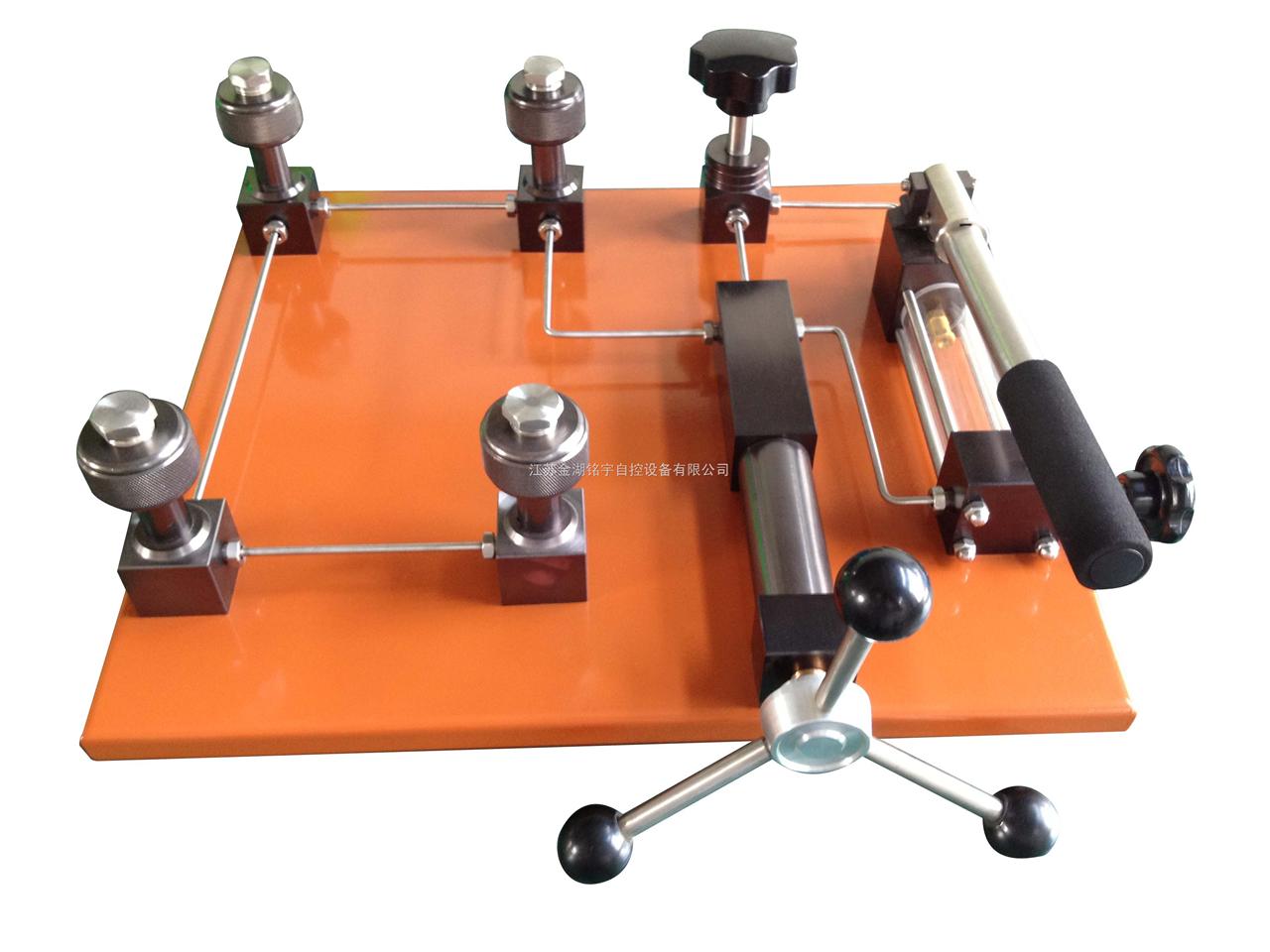 壓力校驗臺(氣壓),磁翻板液位計,電磁流量計,臺式壓力泵
