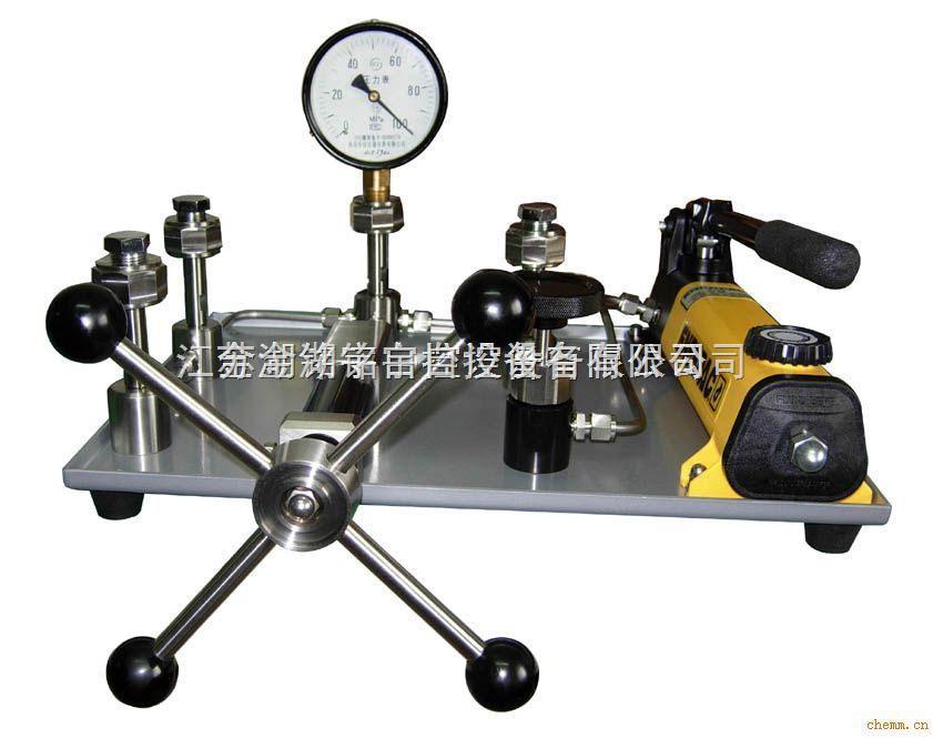 MY-100B-Y台式液压压力泵、厂家直销、专业生产