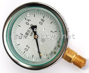 YN-耐震壓力表作用