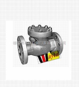 WAYEN-不锈钢单向阀 WAYEN进口旋启式止回阀 对夹式单流阀