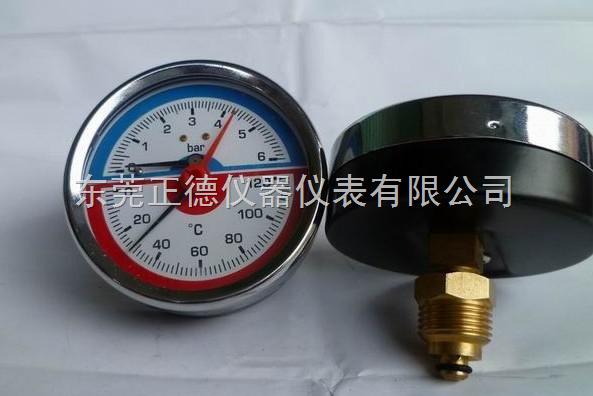 供應60MM軸向壓力溫度一體表