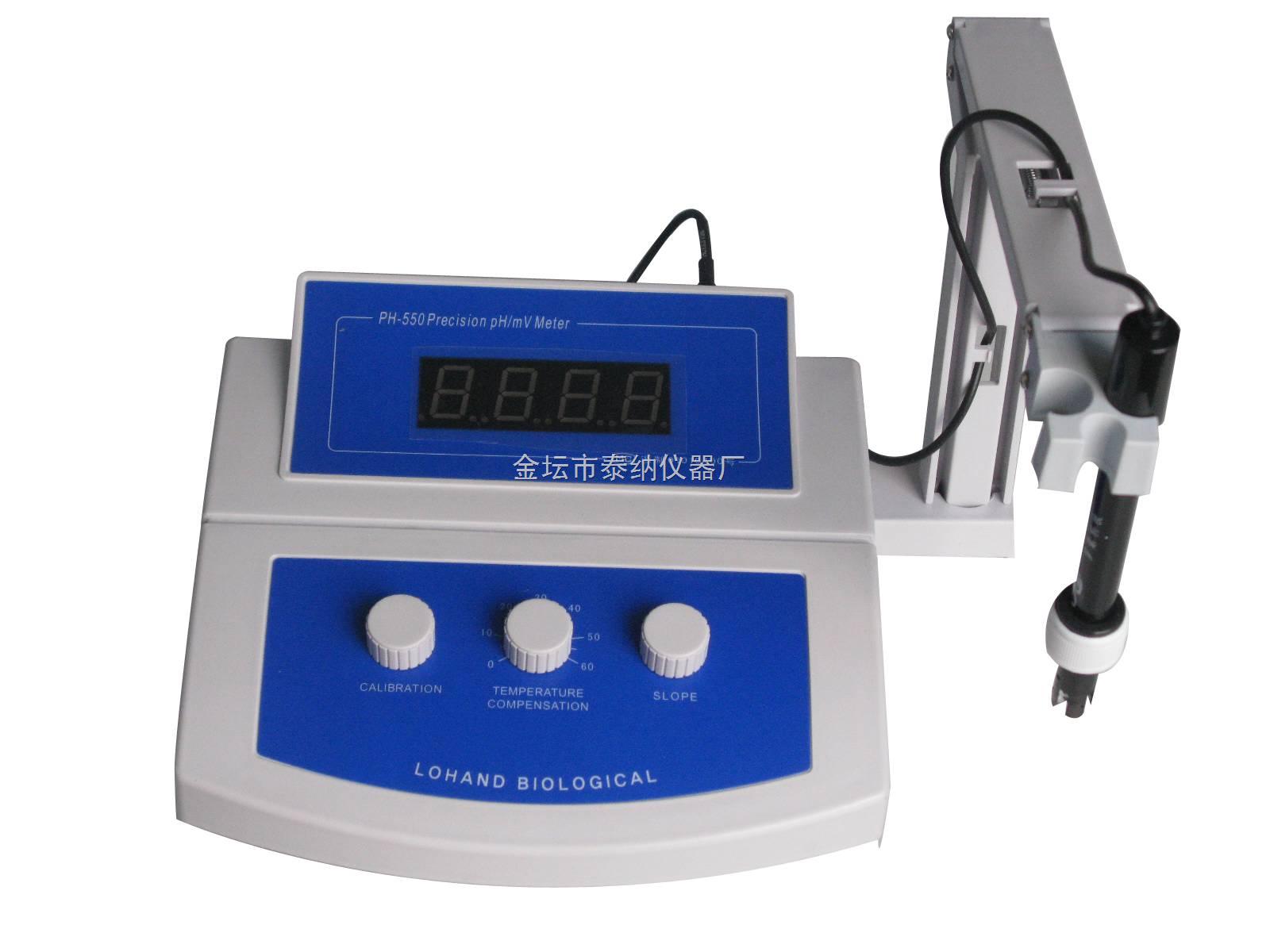 PH-550-高精度臺式酸度計