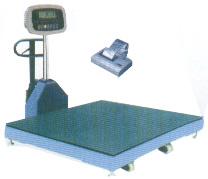 FM移動地上衡/移動電子地磅/1T電子地磅