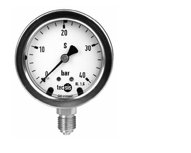 進口耐震壓力表