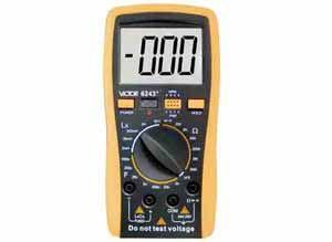数字电感电容电阻表VICTOR 6243+