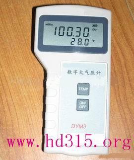便携式气压计60~106KPa 精度0.5% 型号:XA24-DYM3-02