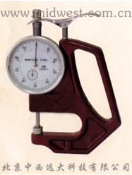 手持式测厚仪(0-10mm发泡人造革、橡塑、纸张) 型号:CN61M/CHBS