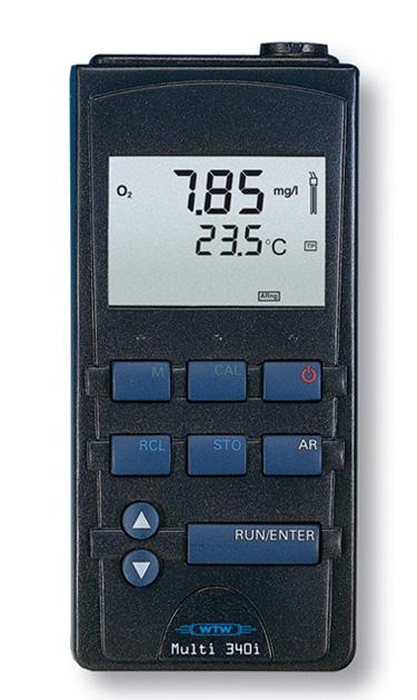 多功能水質分析儀型號:WTW/Multi 340i