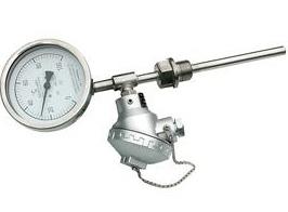 帶熱電偶/熱電阻雙金屬溫度計WSSE-481