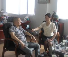 仪表网走进温州新兴仪表城之:访双吉电气蔡董事长