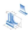 XQJ-C-2D 垂直等径左下弯通